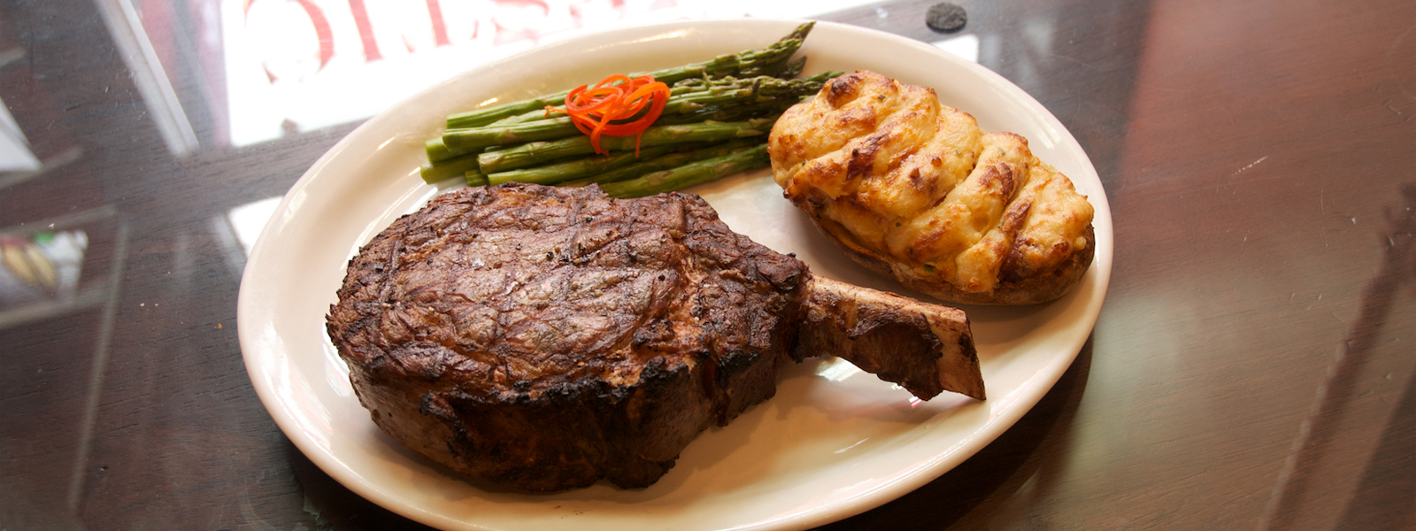 Kansas City Steak Selections At The Majestic Restaurant Reserve A Table